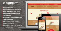 Gourmet - Restaurant Bar Hotel WordPress Theme by colibriinteractive   Need Support? Jump into the forum! Support for all our themes and templates is conducted through the Colibri Interactive suppo