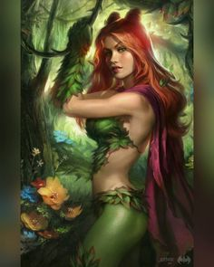 Mother nature's personal green thumb the dangerous Poison Ivy - - Artwork by Josh Burns - - ______________________________________ #pamelaisley #poisonivy #gothamcitysirens #dc #dcnation #dcuniverse #dccomics #heroes #villains #antihero #nerds #geeks #geeklove #art #loveart #respectart #comic #comicbooknerd #comicart #comicbooks #epic #neek by dim3nsi0nx