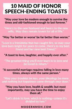Matron Of Honor Speech, Matron Of Honour, Best Friend Wedding, Sister Wedding, Wedding Prep, Wedding Tips, Wedding Planning, Dream Wedding, Bridesmaid Speeches
