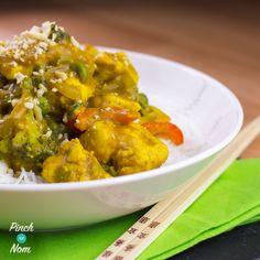1 Syn Chicken Satay | Slimming World - http://pinchofnom.com/recipes/1-syn-chicken-satay-slimming-world/