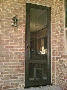 Leaders in Pet Door Selection Solution Service Pet Door, Barbie Dream House, Pet Life, Cozy Place, Back Doors, Home Renovation, Outdoor Spaces, Building A House, Storm Doors