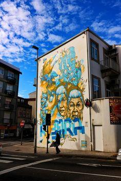 Street art, Porto, Portugal #streetart #porto #portugal #travel #travelblog