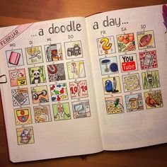 My personal PTLdoodles of february… 29 doodles = 29 memories of an exciting month CeCe Smithwick. Bullet Journal 2020, Bullet Journal Notebook, Bullet Journal Ideas Pages, Bullet Journal Inspo, Journal Pages, Bullet Journals, Kunstjournal Inspiration, Wreck This Journal, Scrapbook Journal