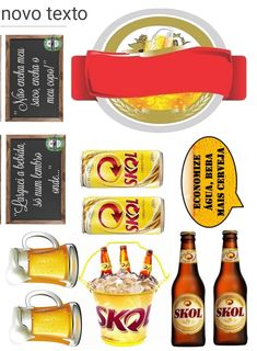 Bolo Budweiser, Bolo Frozen, Jessie Toy Story, Paper Toys, Scrapbooking, Cupcake Toppers, Beer, Food, Washington