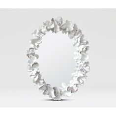 Made Goods Coco Lotus Coral Frame Mirror