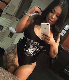 Okland Raiders, Raiders Girl, Oakland Raiders Football, Chicano, Ladies Football League, Raiders Cheerleaders, Gangster Girl, Raider Nation, Best Fan