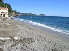 Beach in Le Cannet in the French Riviera