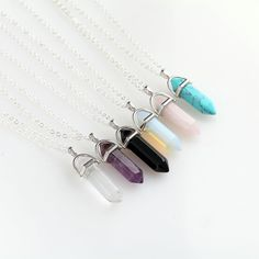 Pendants Hexagonal Column Necklace Natural Crystal turquoise Agate Amethyst Stone Pendant Chains Necklace For Women Fine Jewelry -- AliExpress Affiliate's Pin. View the item in details by clicking the VISIT button Jewelry Tags, Jewelry Gifts, Fine Jewelry, Women Jewelry, Fashion Jewelry, Jewelry Necklaces, Crystal Pendant, Crystal Necklace, Gemstone Necklace