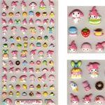 Sanrio Japan My Melody Bakery Puffy Marshmallow Stickers