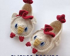 Crochet Baby Pattern Fox Baby Booties Fox Baby Socks by meinuxing $6.80