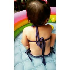 Baby back #babysummer #babyback #babyswimwear