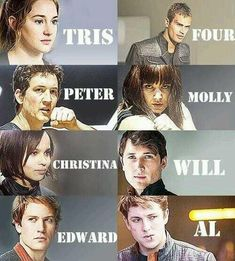 all characters from divergent - Google Search