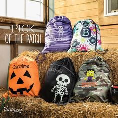 Fall Special Cinch Sacs are part of the Special for the month of August ! New Glow in the Dark icon and thread available too. Use as a gym bag, school bag, sports bag, trips to the park, field trips and more.
