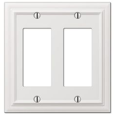 amertac continental white 1 duplex outlet 94dw switch plates pinterest outlets