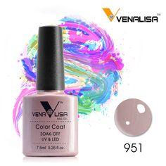 #61508 Venalisa New Brand 100% Gel Polish Soak Off UV LED UV Gel Nail Polish