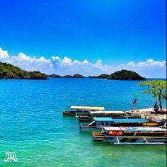 Hundred Islands Pangasinan, Philippines