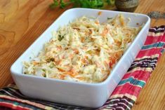 Salata Coleslaw - rețeta simplă, perfectă ca garnitură Coleslaw, Potato Salad, Macaroni And Cheese, Salads, Food And Drink, Potatoes, Cooking, Health, Ethnic Recipes
