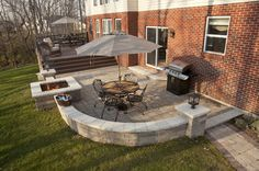 ... Garden Design With Paver Stone Patios And Decks On Pinterest Patio,  Decks And Patio With