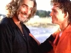 "Sam Elliott and Patrick Swayze in ""Roadhouse"""