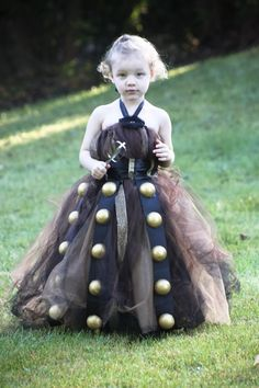 Dalek Doctor Who flower girl dress!   Hold on. Someone had their cute toddler flower girl dressed as a Dalek? This is a theme wedding I need to see.