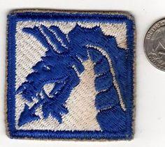 Original US ARMY WWII Korea War era 18th Airborne Corps Division Unit Patch WW