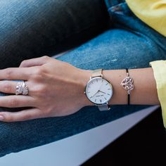 Team the Julie Julsen Pure Silver Mesh with your favourite silver accessories. Heart Jewelry, Heart Bracelet, Silver Accessories, Watches, Daniel Wellington, Sterling Silver Rings, Mesh, Pure Products, Accessories