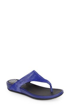 BLuE Suede Sandals for Summer ~ FitFlop 'FF2 - Banda Opul' Thong Sandal (Women)