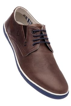 ALLEN SOLLY - Mens Camel Toned Lace Up Casual Leather Shoe, All Shoes For SHOES, Men | Shoppers Stop