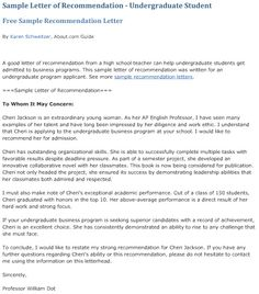 Top 10 Sample Recommendation Letters for Students to Seriously Consider – CollegeRag.net Teachers College, School Teacher, Business Letter Format Example, Graduate School, Graduate Degree, College Recommendation Letter, Leadership Characteristics, College Letters, College Application
