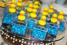 Adorable baby shower tea party ideas – how to plan the perfect event? Rubber Ducky Party, Rubber Ducky Birthday, Rubber Ducky Baby Shower, Baby Shower Duck, Cheap Baby Shower, Tea Party Baby Shower, Baby Party, Girl Baby Shower Decorations, Boy Baby Shower Themes