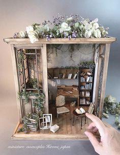 1//12 scale Handmade étagère pour Miniature Shop dollshouse ou roombox cuisine