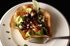 Crispy Taco Salad Bowls