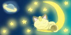 Sleeping Meowth by ~Barbarian--Warrior on deviantART