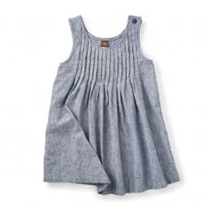 Umi Chambray Pleated Jumper