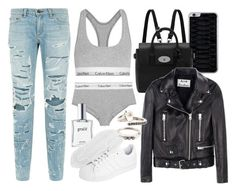 """""""Untitled #10784"""" by theleatherlook ❤ liked on Polyvore featuring rag & bone, Calvin Klein Underwear, philosophy, Mulberry, adidas Originals, Acne Studios and Rosa Maria"""