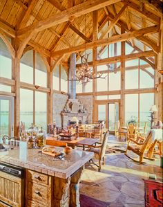 .: Texas Timber Frames - Galleries :. Timber Trusses, Frame House Plans, Frame Homes, Post and Beam Homes, Log House Log Home Plans, Barn Homes