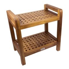 SeaTeak Teak Free Standing Shower/Tub Seats