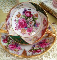 Vintage Teacup and Saucer  Set