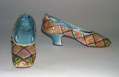 1880's shoes from russia housed at the met