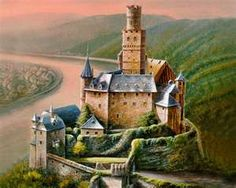 Sleep in a castle that is cool, not hot and humid like the one my bf stayed in. LOL