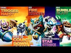 5 Swap Force Variants Leaked - Jade Fire Kraken, Kick Off Countdown, Jolly Bumble Blast