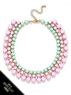 Primrose Cabochon Collar Set
