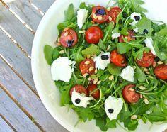 Italiaanse salade met rucola en mozzarella - Lekker en Simpel