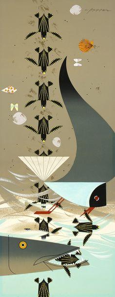 Perilous Passage...Charley Harper