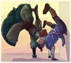 Sokka And Suki by sqbr on DeviantArt Avatar Aang, Suki Avatar, Team Avatar, The Last Avatar, Avatar The Last Airbender Art, Avatar Cartoon, Avatar Funny, Suki And Sokka, Avatar Series