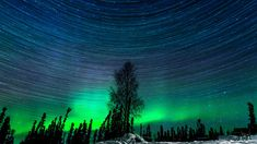 Hypnotic Northern Lights Time-Lapse Captured Over 2 Magical Nights in Alaska