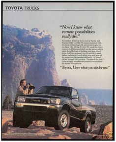 1990 Toyota SR-5 V6 4x4 Pick-up