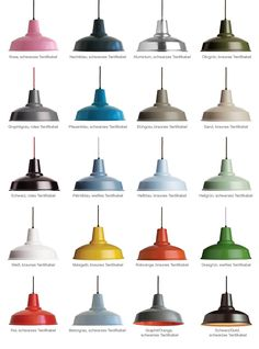 Handgefertigte Alu-Pendelleuchte PANDULERA, in 20 Farben von Eleanor Home: Diese Industrial-Pendelleuchten sind in vielen Farben hochwertig lackiert ausführbar