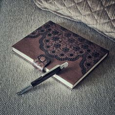 A beautiful notebook demands an equally exquisite writing companion. . To purchase, visit www.jn-woodworks.com, or email me at jason@jn-woodworks.com