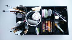 Make-up storage #storage #make-up #kosmetik #aufbewahrung #tablett